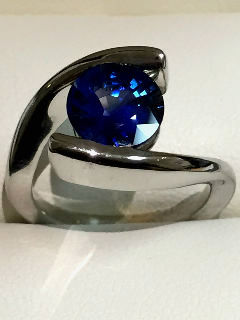 2.27ct bypass blue